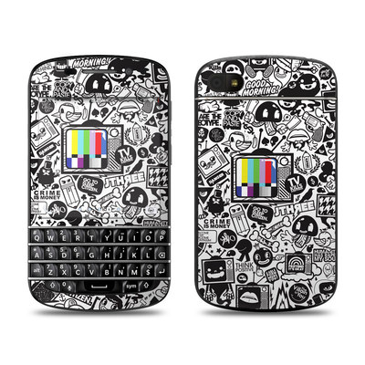 BlackBerry Q10 Skin - TV Kills Everything