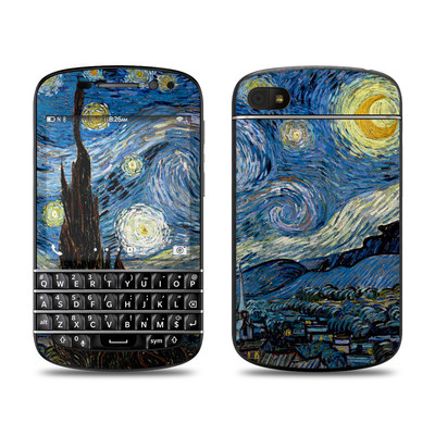 BlackBerry Q10 Skin - Starry Night