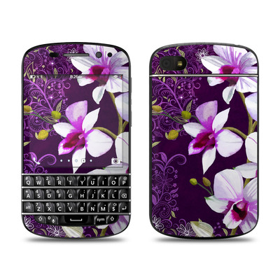 BlackBerry Q10 Skin - Violet Worlds