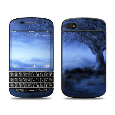 BlackBerry Q10 Skin - World's Edge Winter