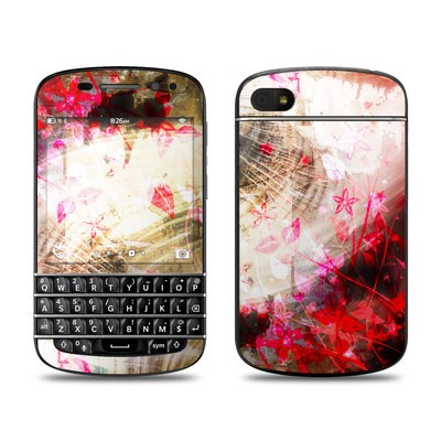 BlackBerry Q10 Skin - Woodflower