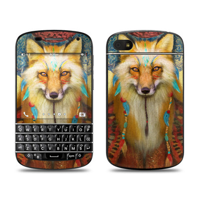 BlackBerry Q10 Skin - Wise Fox
