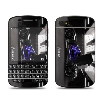 BlackBerry Q10 Skin - Z33 Dark