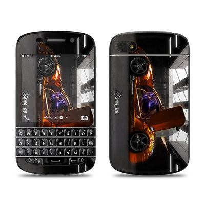 BlackBerry Q10 Skin - Z33 Light