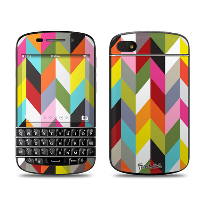 BlackBerry Q10 Skin - Ziggy Condensed