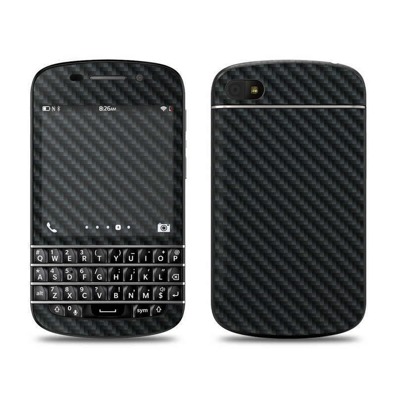 new style e0327 a73b7 BlackBerry Q10 Skin - Carbon by DecalGirl Collective