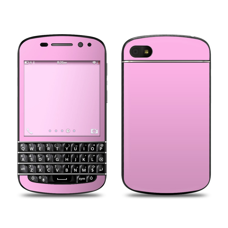 BlackBerry Q10 Skin - Solid State Pink by Solid Colors : DecalGirl