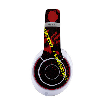 Beats by Dre Studio 2013 Skin - Crime Scene