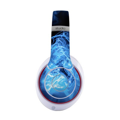Beats by Dre Studio 2013 Skin - Blue Quantum Waves