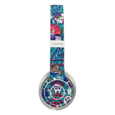Beats Solo 2 Wireless Skin - Cosmic Ray