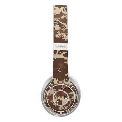 Beats Solo 2 Wireless Skin - Digital Desert Camo