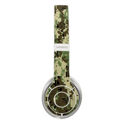 Beats Solo 2 Wireless Skin - Digital Woodland Camo
