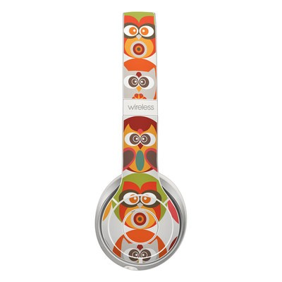 Beats Solo 2 Wireless Skin - Owls Family