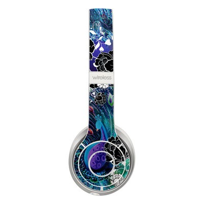 Beats Solo 2 Wireless Skin - Peacock Garden