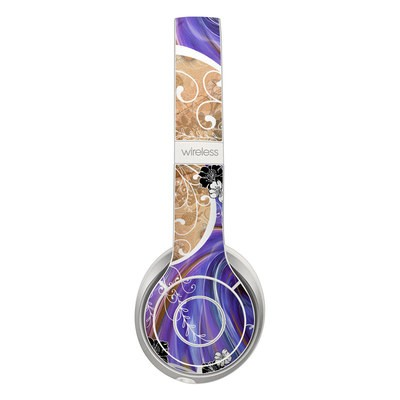 Beats Solo 2 Wireless Skin - Purple Waves