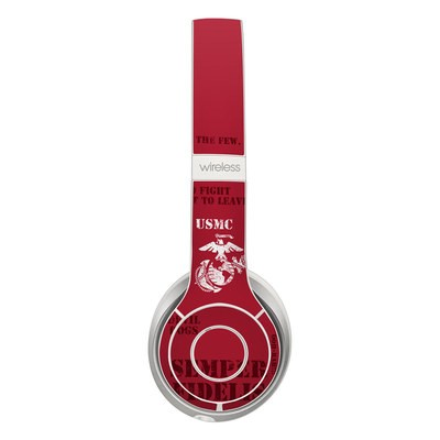 Beats Solo 2 Wireless Skin - Semper Fi
