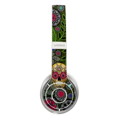 Beats Solo 2 Wireless Skin - Sugar Skull Paisley