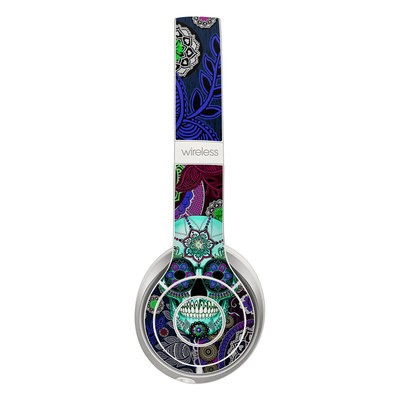 Beats Solo 2 Wireless Skin - Sugar Skull Sombrero