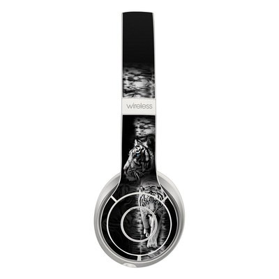 Beats Solo 2 Wireless Skin - White Tiger