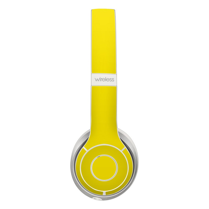 Beats Solo 2 Wireless Skin - Solid State Yellow