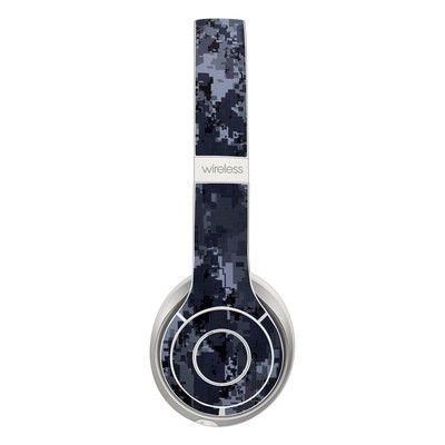 Beats Solo 3 Wireless Skin - Digital Navy Camo