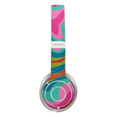 Beats Solo 3 Wireless Skin - Marble Bright