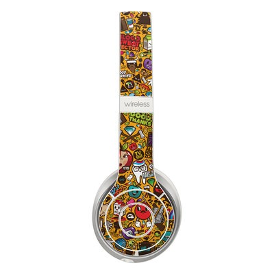 Beats Solo 3 Wireless Skin - Psychedelic