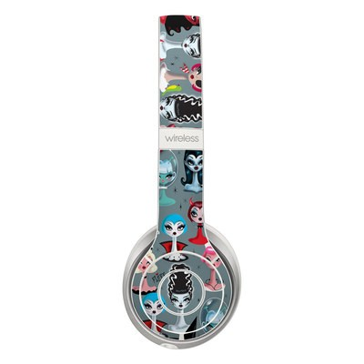 Beats Solo 3 Wireless Skin - Spooky Dolls