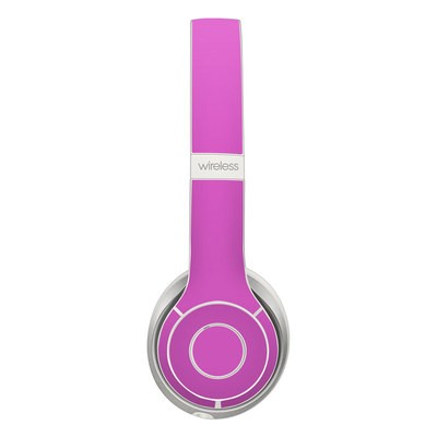 Beats Solo 3 Wireless Skin - Solid State Vibrant Pink