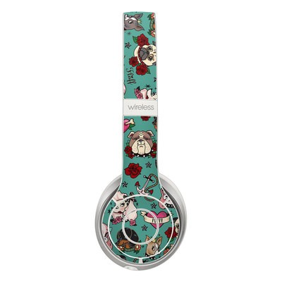 Beats Solo 3 Wireless Skin - Tattoo Dogs