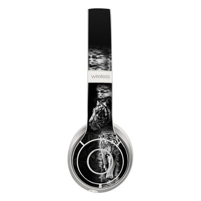 Beats Solo 3 Wireless Skin - White Tiger