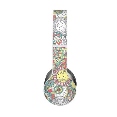 Beats Solo HD Skin - Faded Floral