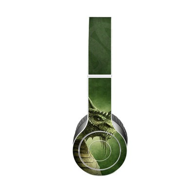 Beats Solo HD Skin - Green Dragon