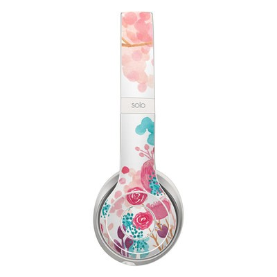 Beats Solo 2 Skin - Blush Blossoms