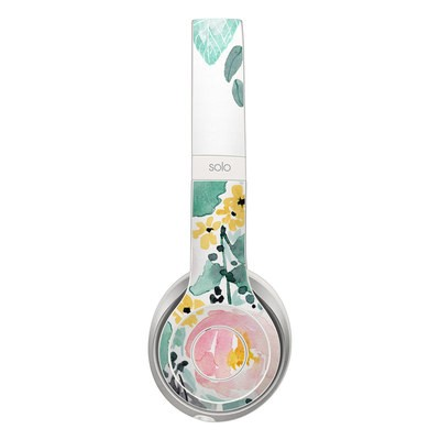 Beats Solo 2 Skin - Blushed Flowers
