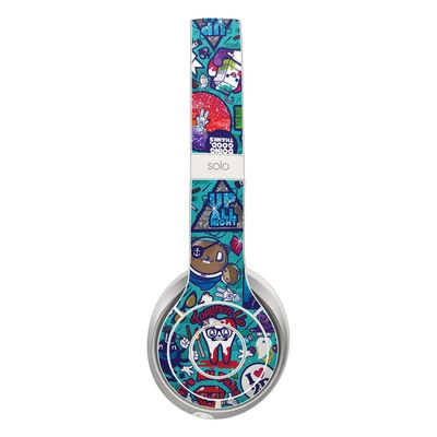 Beats Solo 2 Skin - Cosmic Ray