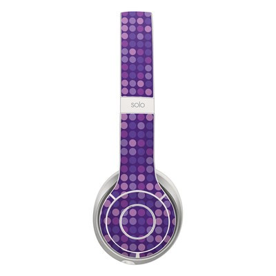 Beats Solo 2 Skin - Dots Purple