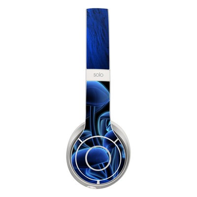 Beats Solo 2 Skin - Fluorescence Blue