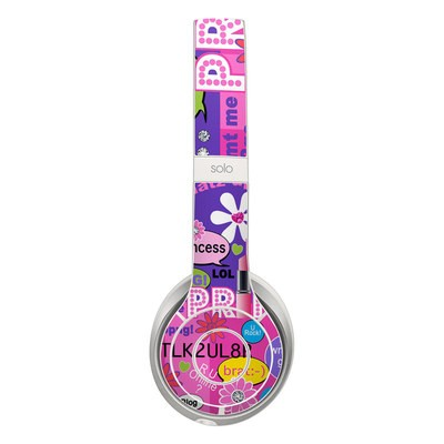 Beats Solo 2 Skin - Princess Text Me