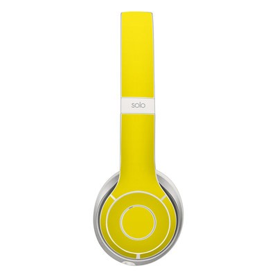 Beats Solo 2 Skin - Solid State Yellow