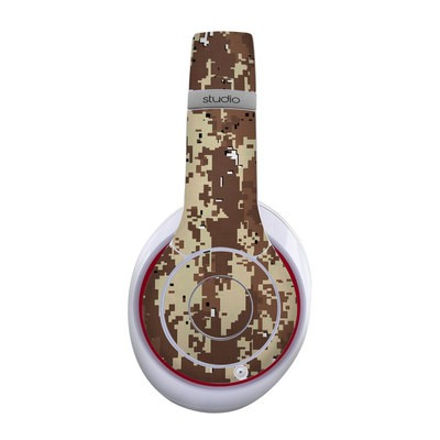 Beats Studio Wireless Skin - Digital Desert Camo