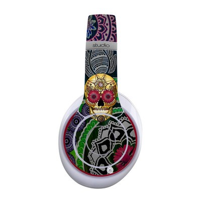 Beats Studio Wireless Skin - Sugar Skull Paisley