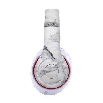 Beats Studio 3 Wireless Skin - White Marble