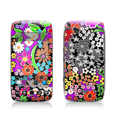 BlackBerry Torch 9850-9860 Skin - A Burst of Color