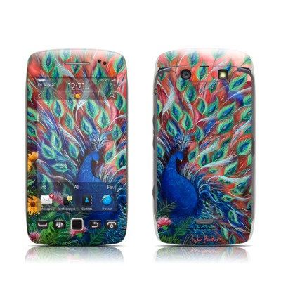 BlackBerry Torch 9850-9860 Skin - Coral Peacock