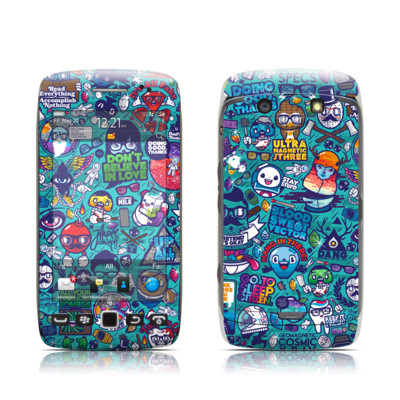 BlackBerry Torch 9850-9860 Skin - Cosmic Ray
