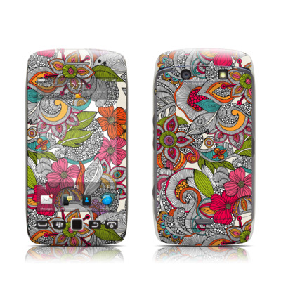 BlackBerry Torch 9850-9860 Skin - Doodles Color