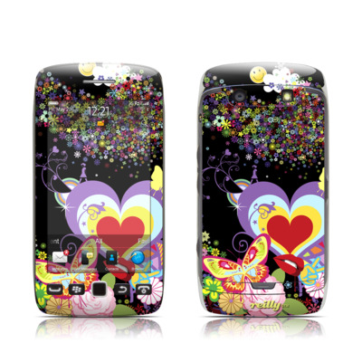 BlackBerry Torch 9850-9860 Skin - Flower Cloud