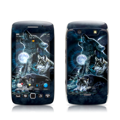 BlackBerry Torch 9850-9860 Skin - Howling