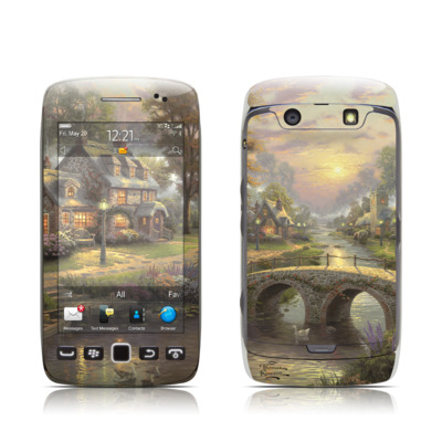 BlackBerry Torch 9850-9860 Skin - Sunset On Lamplight Lane